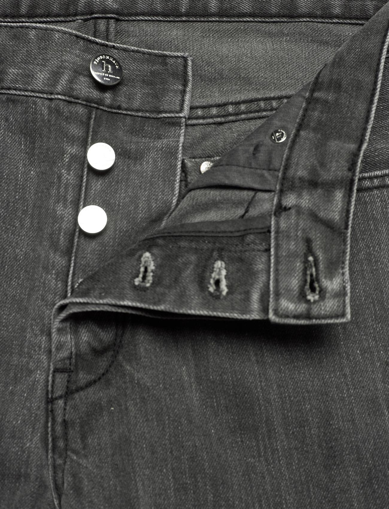 HAN Kjøbenhavn - Tapered Jeans - regular jeans - black stone wash - 3