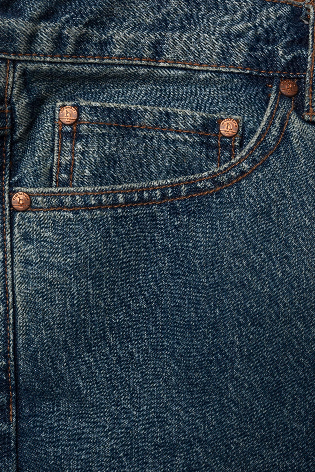 HAN Kjøbenhavn - Tapered Jeans - regular jeans - heavy stone wash - 2