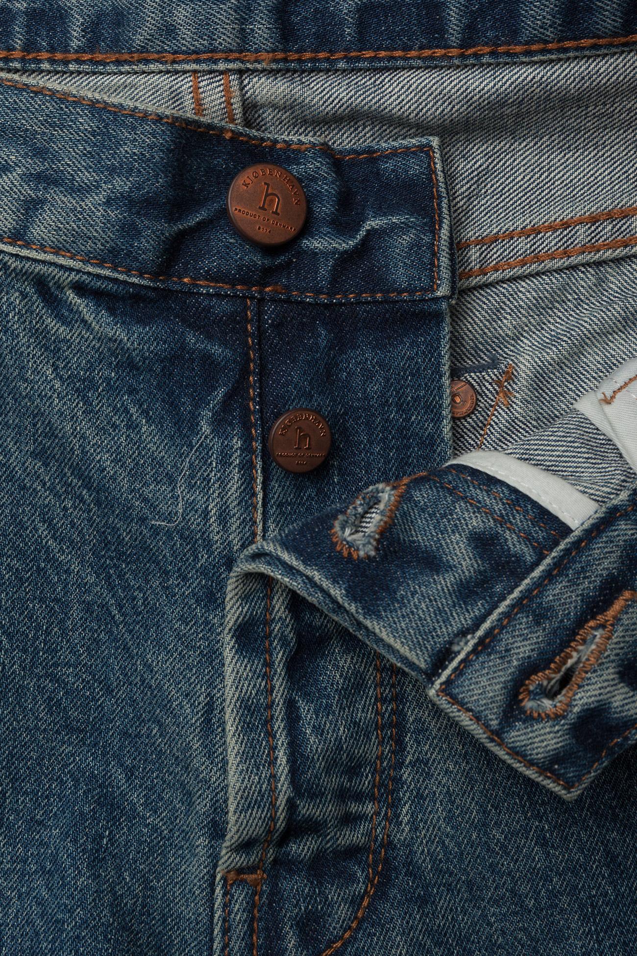 HAN Kjøbenhavn - Tapered Jeans - regular jeans - heavy stone wash - 3