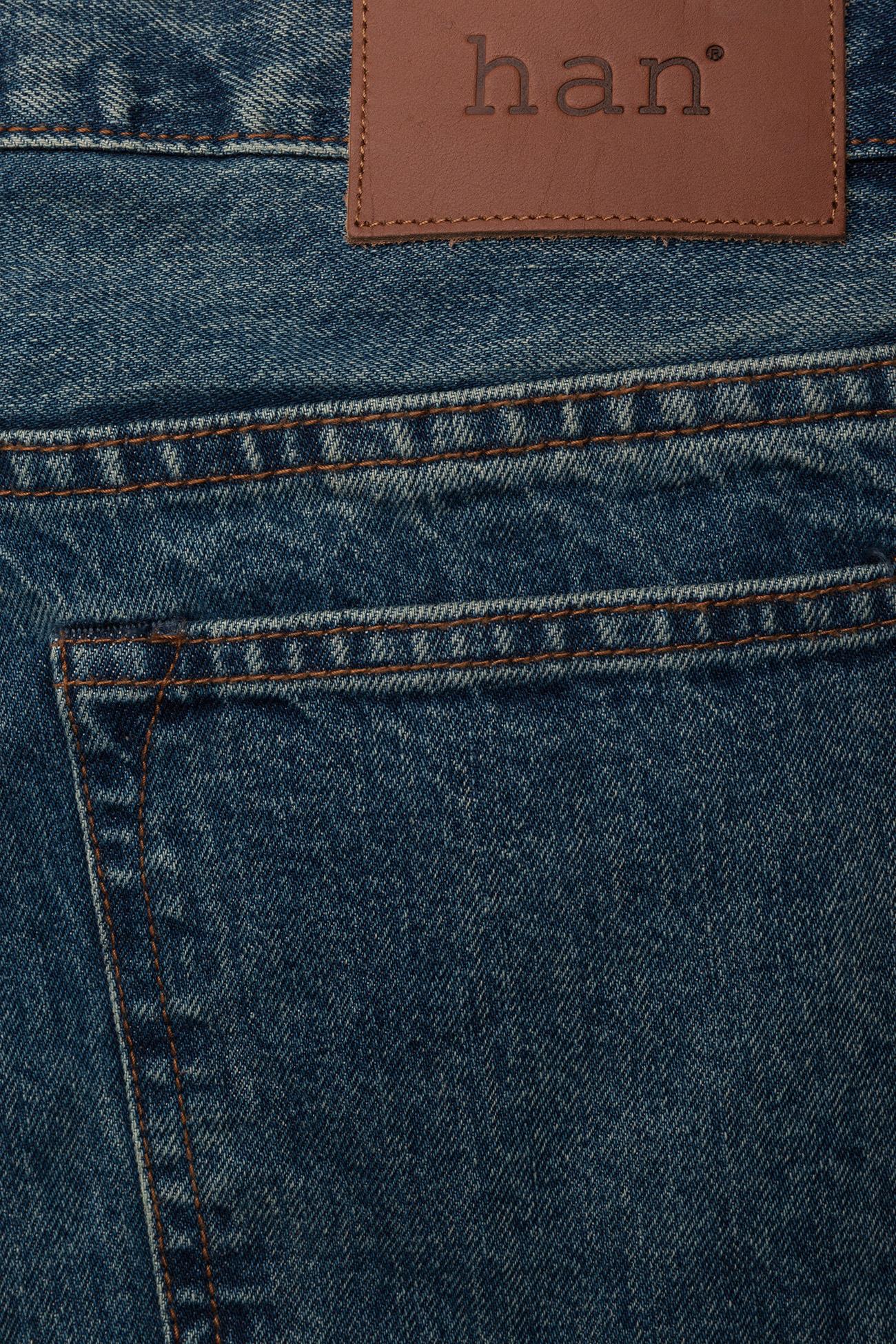 HAN Kjøbenhavn - Tapered Jeans - regular jeans - heavy stone wash - 4