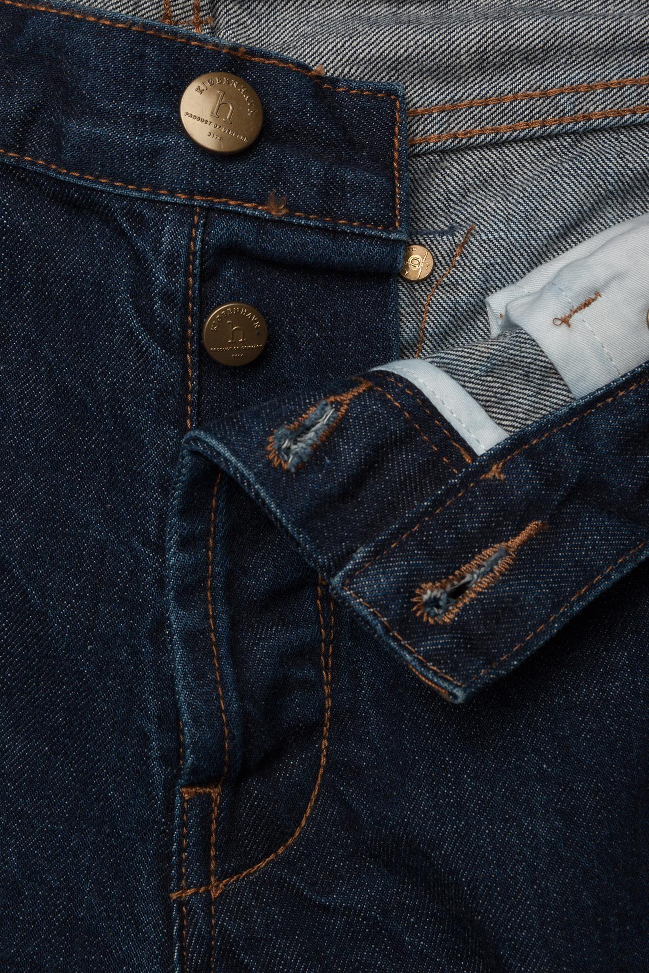HAN Kjøbenhavn - Tapered Jeans - regular jeans - medium blue - 3