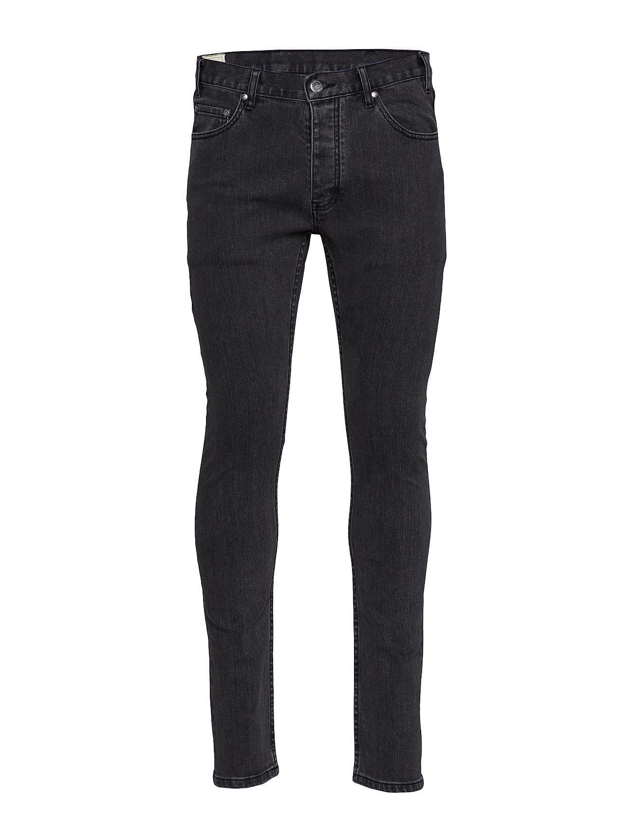 HAN Kjøbenhavn Lean Fit Jeans - BLACK STONE WASH