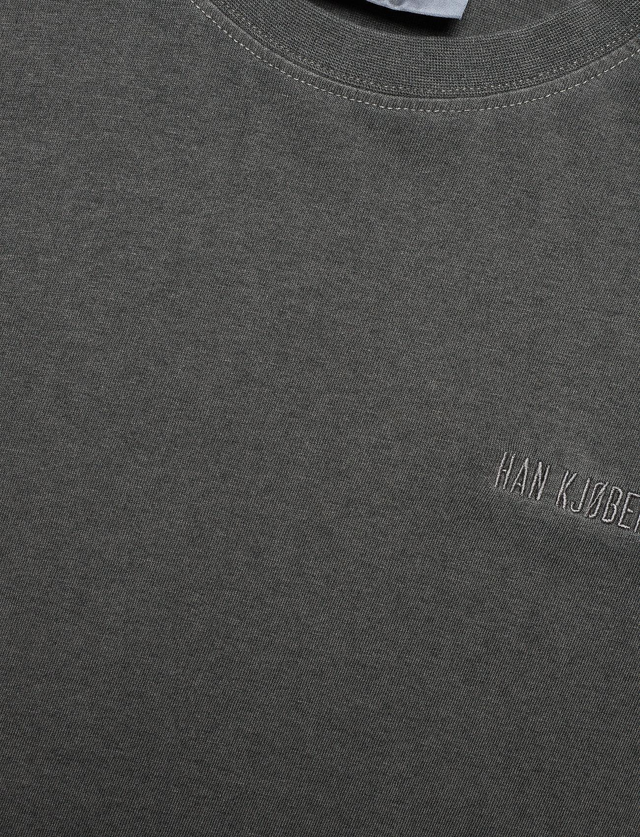 HAN Kjøbenhavn - Casual Tee - basic t-shirts - dark grey - 3