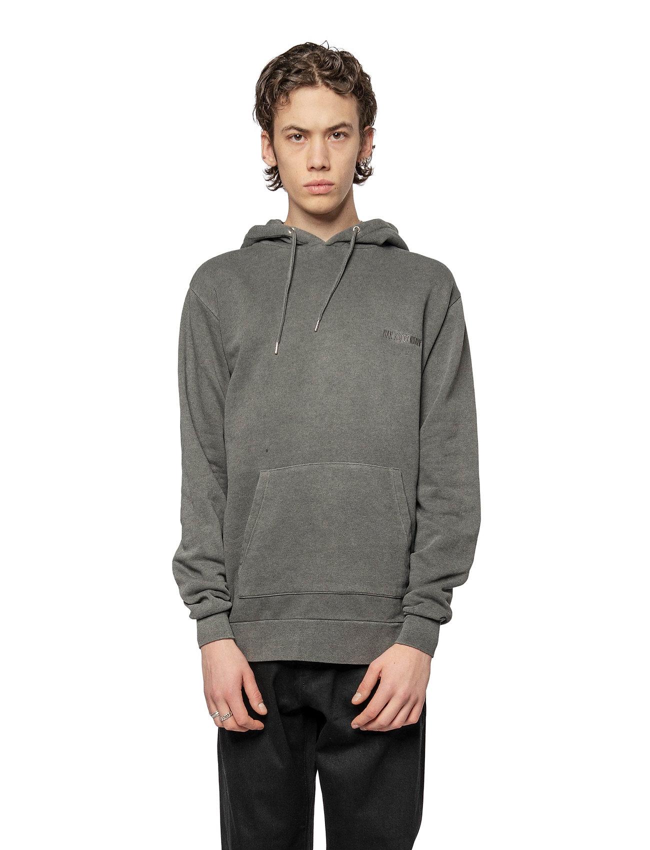 HAN Kjøbenhavn - Casual Hoodie - basic sweatshirts - dark grey - 0