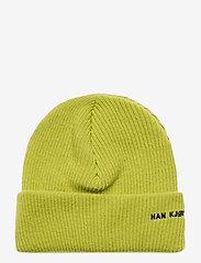 HAN Kjøbenhavn - Beanie Logo - bonnet - lime - 1