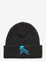 HAN Kjøbenhavn - Beanie - bonnets & casquettes - black melange - 1