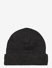 HAN Kjøbenhavn - Top Beanie - bonnets & casquettes - black melange - 2