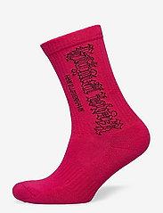 HAN Kjøbenhavn - Socks - enkelsokken - faded pink - 0