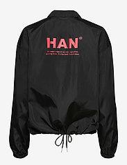 HAN Kjøbenhavn - Coach Jacket - lichte jassen - black nylon - 1
