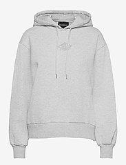 HAN Kjøbenhavn - Bulky Hoodie - hoodies - grey melange - 0