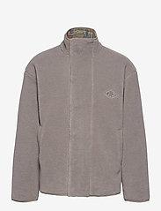 HAN Kjøbenhavn - Track Fleece - podstawowe bluzy - dark grey - 0