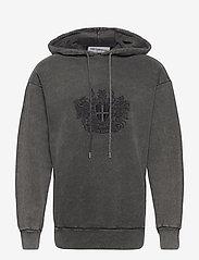 HAN Kjøbenhavn - Artwork Hoodie - hoodies - faded dark grey - 0