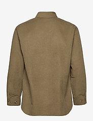 HAN Kjøbenhavn - Army Shirt - tops - grey - 2