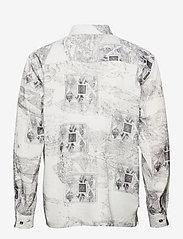 HAN Kjøbenhavn - Boxy Shirt Long Sleeve - casual overhemden - bleach diamond - 1