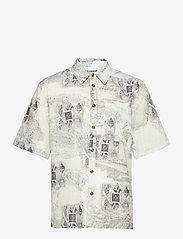 HAN Kjøbenhavn - Boxy Shirt SS - overhemden korte mouwen - bleach diamond - 1
