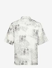 HAN Kjøbenhavn - Boxy Shirt SS - overhemden korte mouwen - bleach diamond - 2