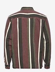 HAN Kjøbenhavn - Boxy Shirt Long Sleeve - casual overhemden - dark stripe - 1