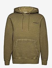HAN Kjøbenhavn - Casual Hoodie - basic sweatshirts - green crush - 1