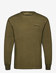 HAN Kjøbenhavn - Casual Long Sleeve Tee - basic t-shirts - green crush - 1