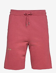 HAN Kjøbenhavn - Sweat Shorts - casual shorts - faded dark red - 1
