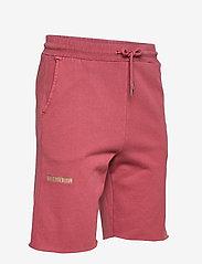 HAN Kjøbenhavn - Sweat Shorts - casual shorts - faded dark red - 3