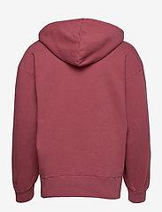 HAN Kjøbenhavn - Bulky Hoodie - hoodies - faded dark red hk - 2