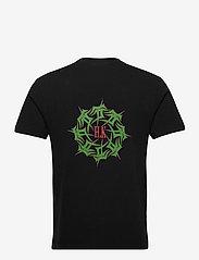 HAN Kjøbenhavn - Artwork Tee - basic t-shirts - faded black tribal - 1
