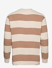 HAN Kjøbenhavn - Boxy Tee Long Sleeve - lange mouwen - off white stripe - 2