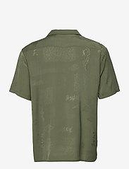 HAN Kjøbenhavn - Summer Shirt - overhemden korte mouwen - green tribal - 1