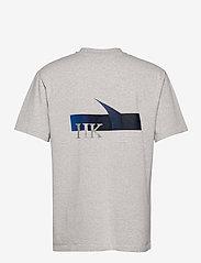 HAN Kjøbenhavn - Boxy SS Tee - basic t-shirts - grey melange - 1