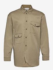 HAN Kjøbenhavn - Army Shirt - kleding - olive grey - 1