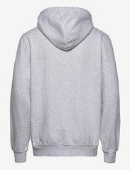 HAN Kjøbenhavn - Casual Hoodie - hoodies - light grey melange logo - 1