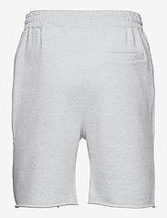 HAN Kjøbenhavn - Sweat shorts - casual shorts - light grey melange logo - 1