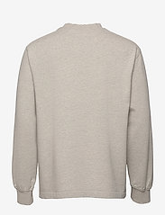 HAN Kjøbenhavn - Distressed Tee Long Sleeve - basic t-shirts - distressed grey melange - 1