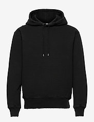 HAN Kjøbenhavn - Distressed Hoodie - hoodies - distressed black - 0