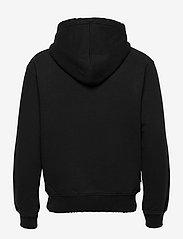 HAN Kjøbenhavn - Distressed Hoodie - hoodies - distressed black - 1
