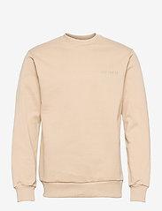 HAN Kjøbenhavn - Casual Crew - basic sweatshirts - sand - 0