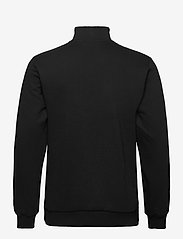 HAN Kjøbenhavn - Half Zip Sweat - basic sweatshirts - black logo - 1