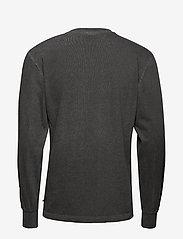 HAN Kjøbenhavn - Casual Long Sleeve Tee - basic t-shirts - dark grey logo - 2