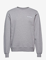 HAN Kjøbenhavn - Casual Crew - basic sweatshirts - grey logo - 1