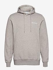 HAN Kjøbenhavn - Casual Hoodie - hoodies - grey melange - 1