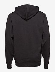 HAN Kjøbenhavn - Zip Hoodie - hoodies - black logo - 2