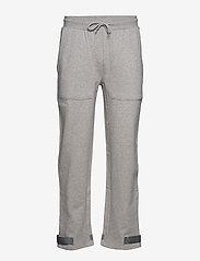 HAN Kjøbenhavn - Sweat Pants - kleding - grey logo - 0