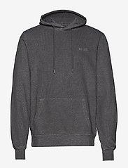 HAN Kjøbenhavn - Casual Hoodie - basic sweatshirts - dark grey - 1