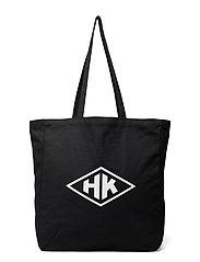 Tote Bag HK - BLACK