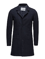 Bankers Trench Coat - DARK INDIGO