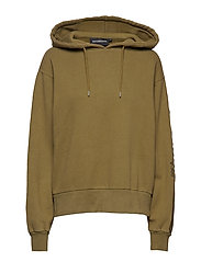 Bulky Hoodie - OLIVE