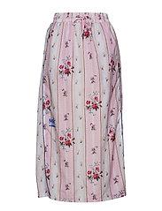 Midi Skirt - FLOWER NYLON