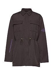 Desk Jacket - BLACK COTTON