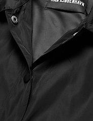 HAN Kjøbenhavn - Coach Jacket - lichte jassen - black nylon - 3